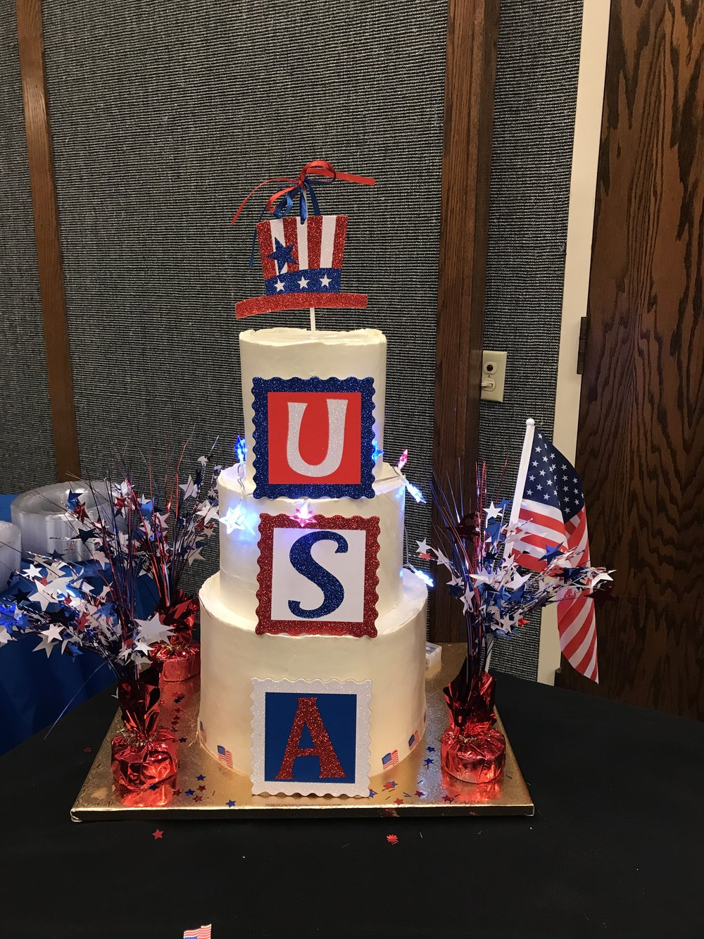 USA - Military Cake - Mwokaji Cakery .JPG