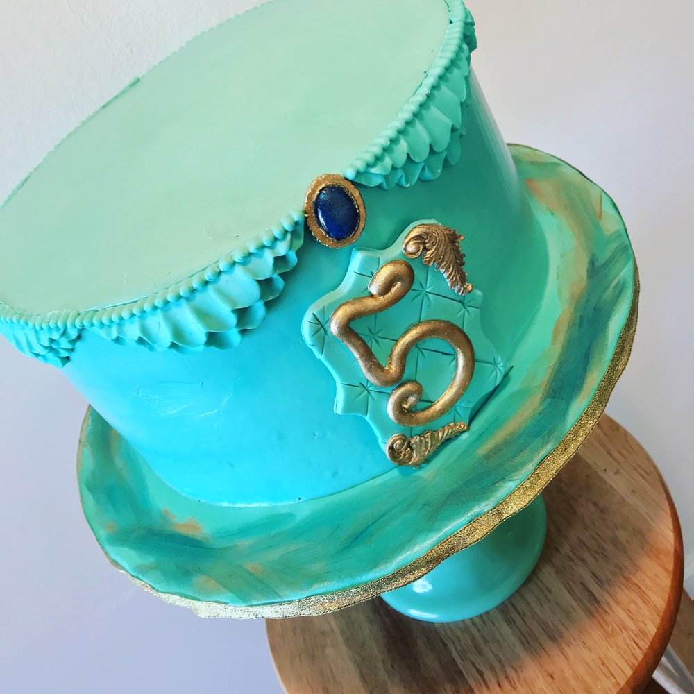 Disney Princess Jasmine Inspired Birthday Cake - Mwokaji Cakery .JPG