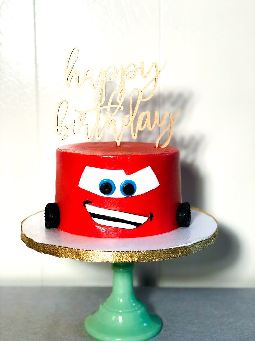 Cars Birthday Cake - Mwokaji Cakery.JPEG