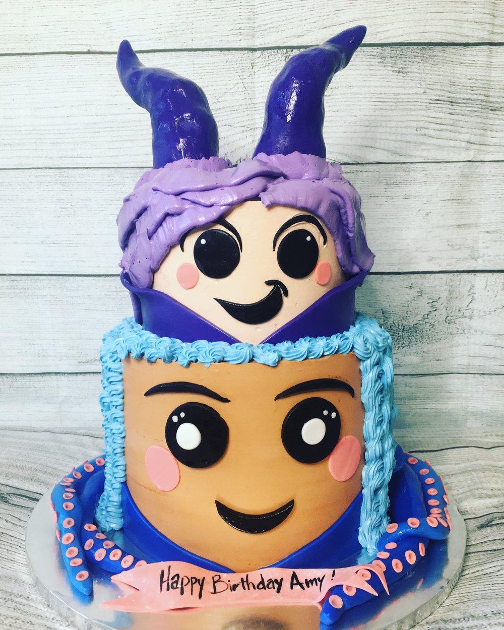 Disney Descendants 3 Cake - MWOKAJI CAKERY.JPG