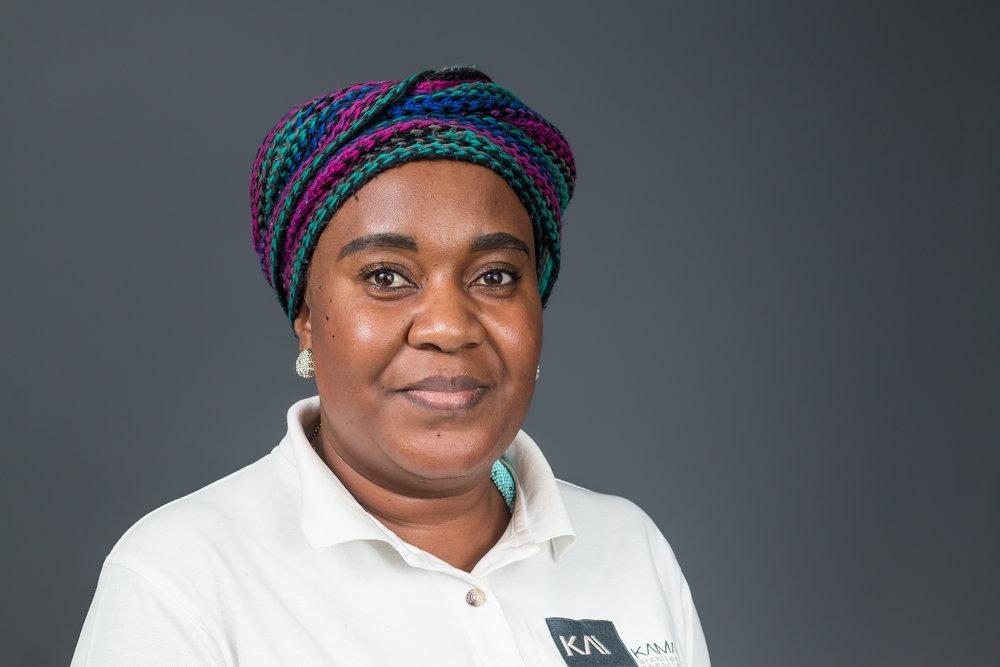 Adelheid Ihuhua - Office Administrator    Years of Experience:  Three (3) years