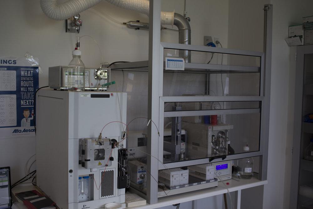 Preparative HPLC system