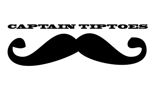 captain tiptoes | logo | gastro worldwide