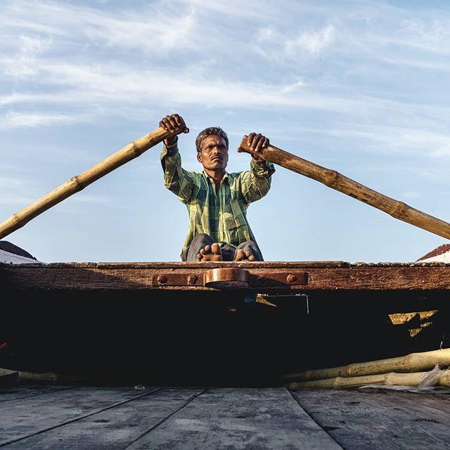 The boatmen of Ganges