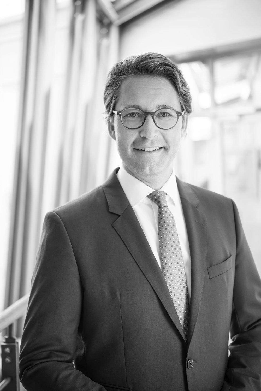 Andreas Scheuer, MdB  Bundesminister für Verkehr und digitale Infrastruktur