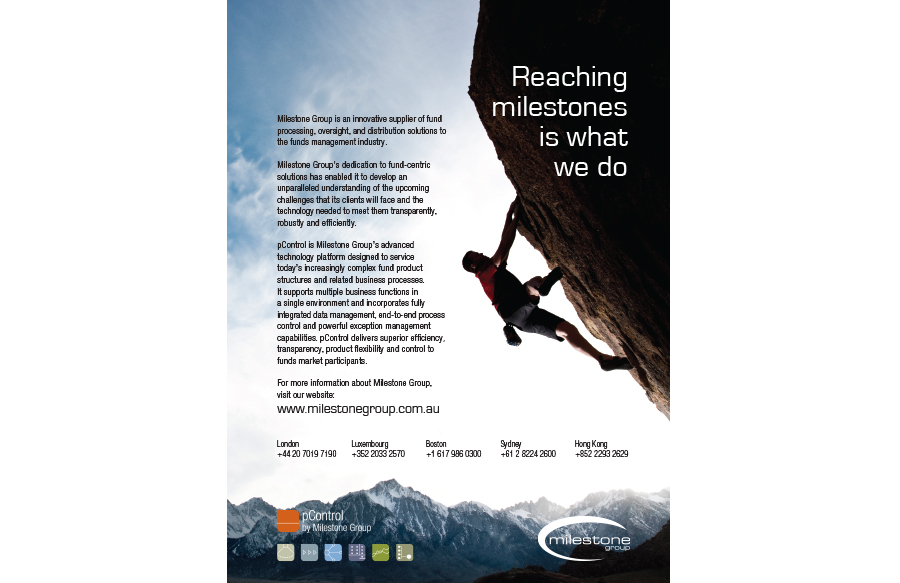 Ad for Milestone Group
