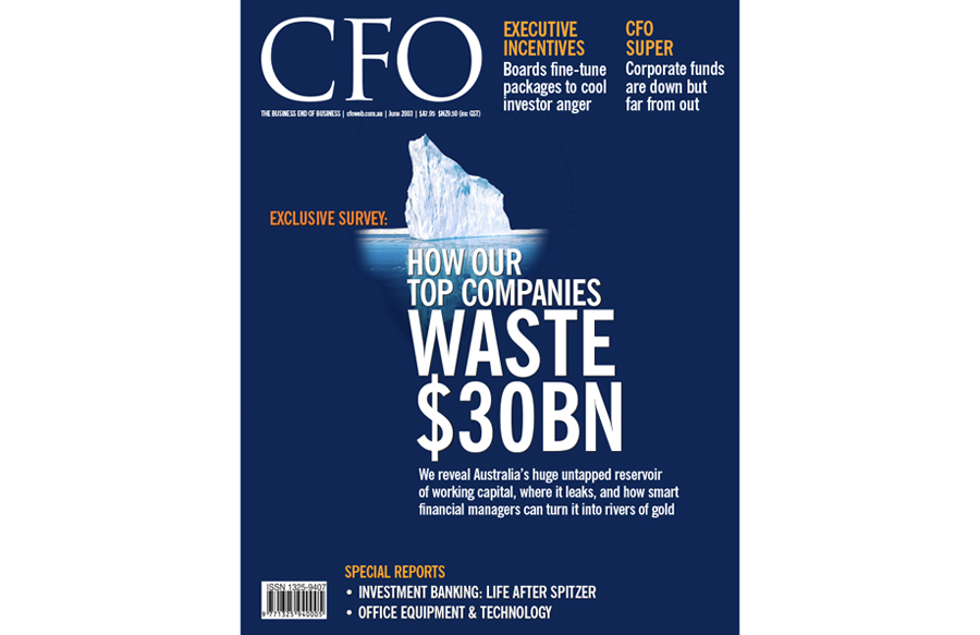 Art direction for CFO magazine, Fairfax media