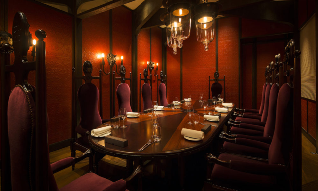 Dinner by Heston, Private Dining Room