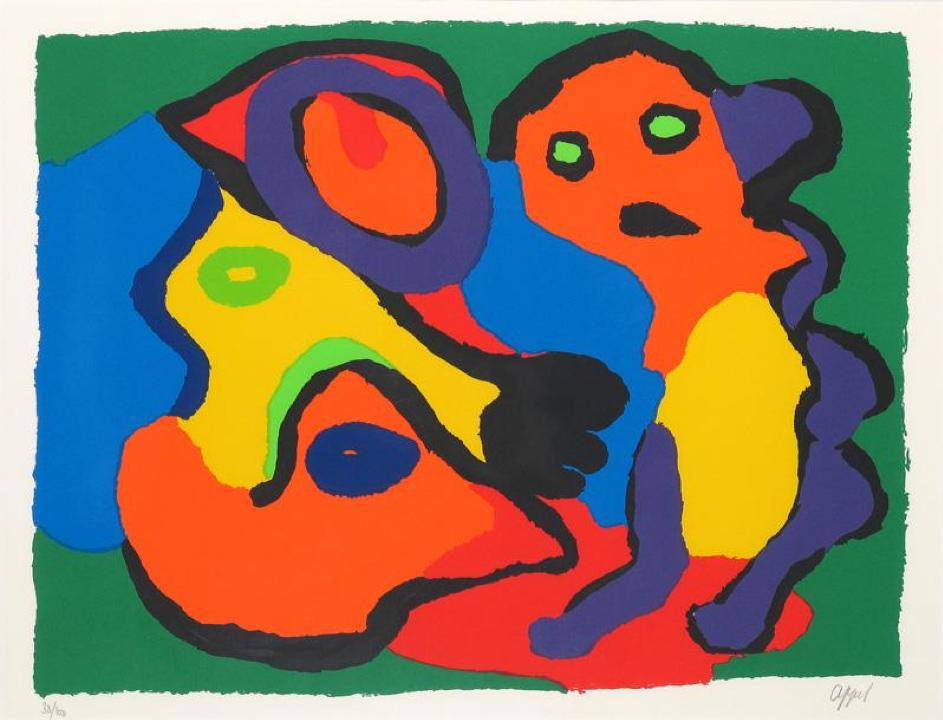 Collectie Business Art Service: Karel Appel, zonder titel