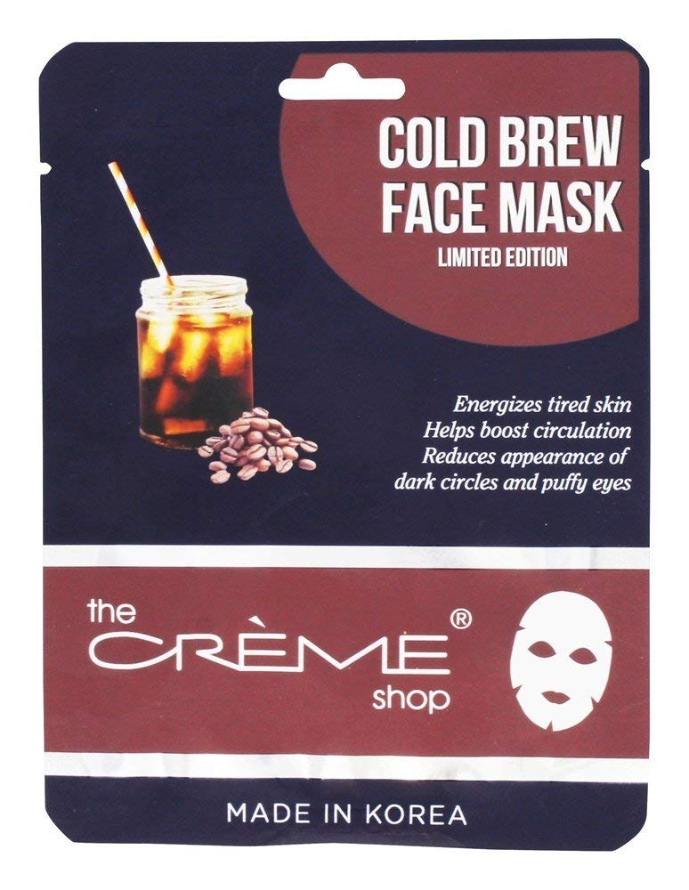 Cold Brew Face Mask