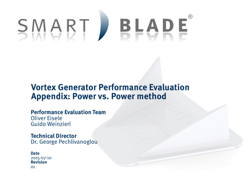 SMART BLADE - Performance Evaluation