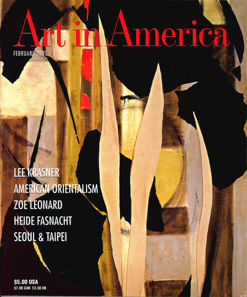 Art in America | Nancy Princenthal | Feb 2001