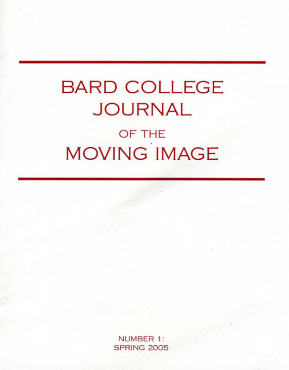 Bard College Journal | Patrick Hebron | 2005