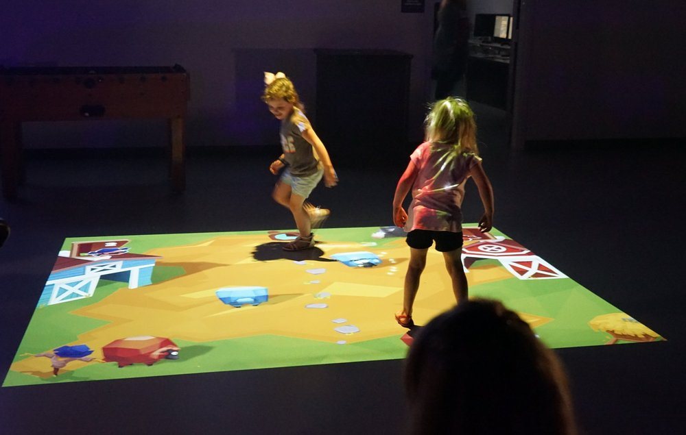 Interactive Beam - Whether you are young or old our interactive laser beam technology is sure to keep you on your toes.