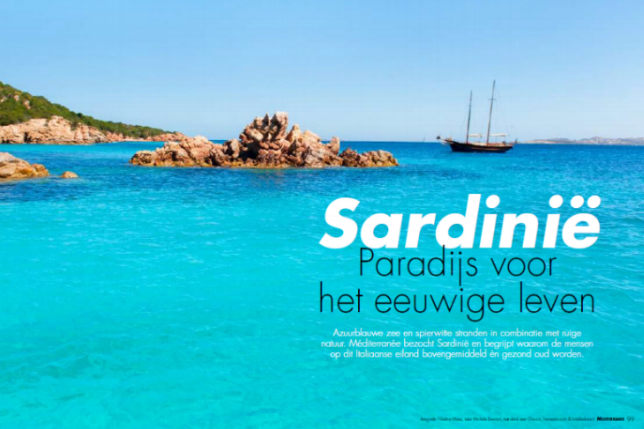 Méditerranée Magazine (Dutch)   Click here for the full article  in Dutch