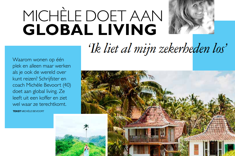 Grazia Magazine (Dutch)   Click here for the full article  in Dutch