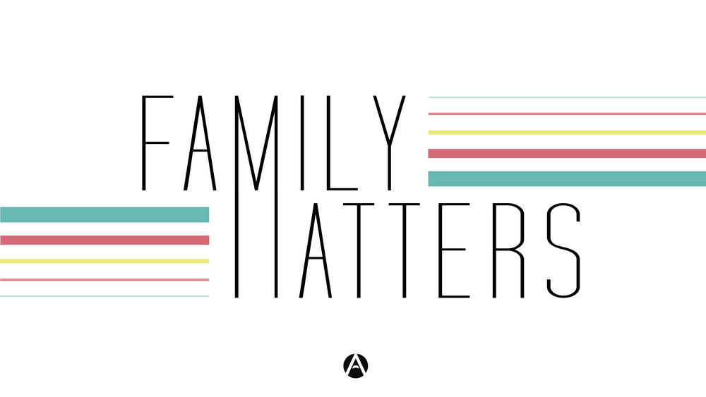 Family Matters - This series is goes through our church mission statement in three basic messages: Love Jesus. Love each other. Love our city.