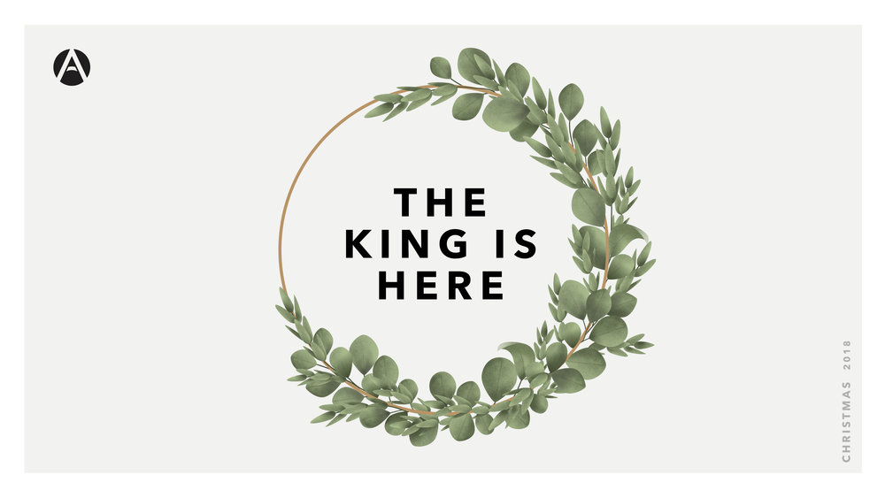 The King is Here - Celebrate the coming of our Savior with these four weeks of exploring the Christmas story!