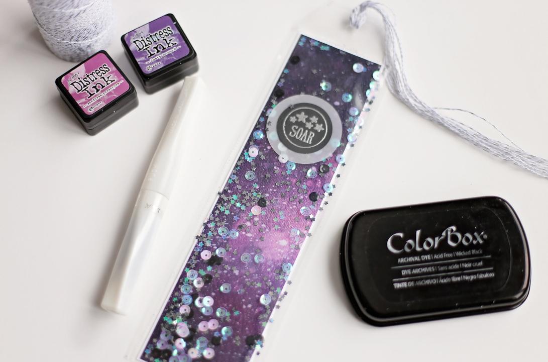 Soar Galaxy Bookmark Ashley Tucker