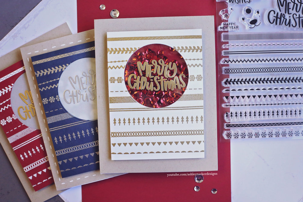 Making lots of Christmas Cards - Simon\'s Fun and Festive Release ...