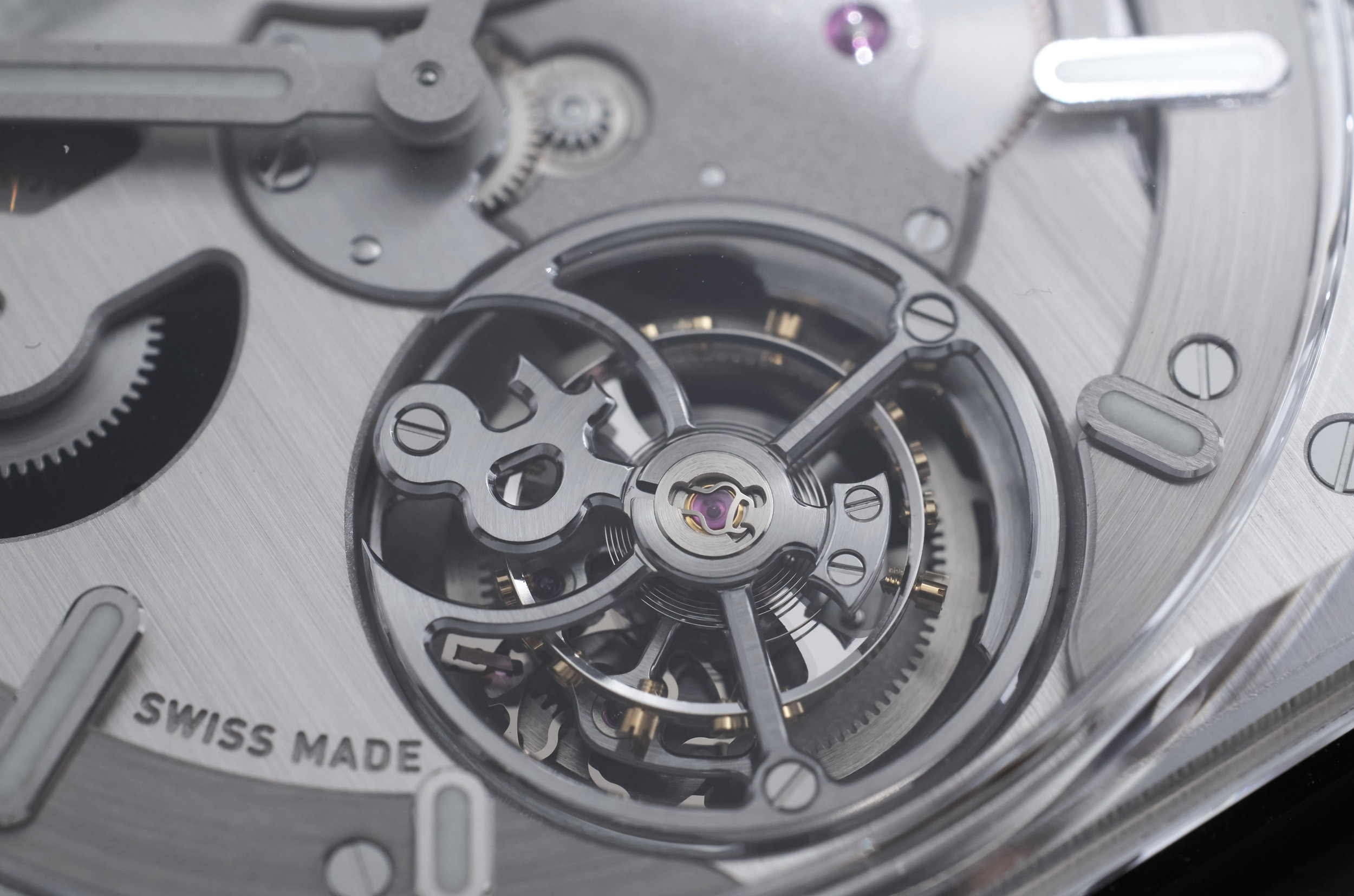 Bell & Ross Tourbillon cage detail