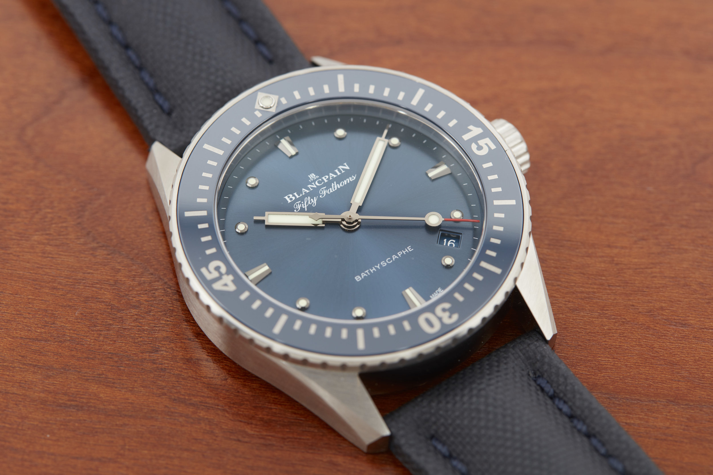 Blancpain Fifty Fathoms Bathyscaphe 38mm