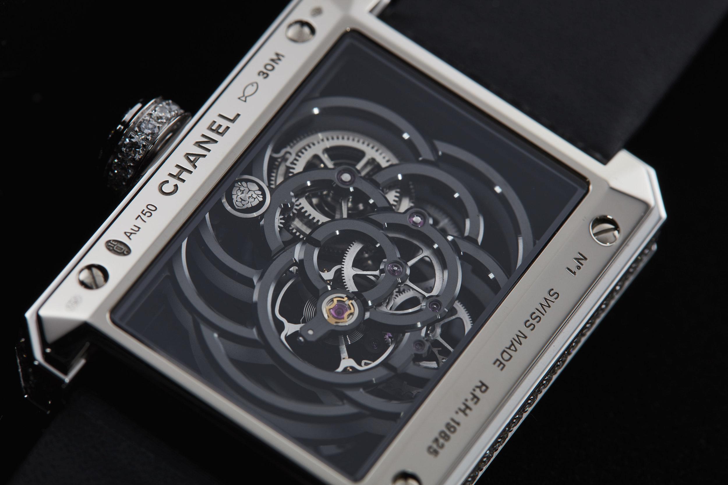 Chanel Camellia Skeleton
