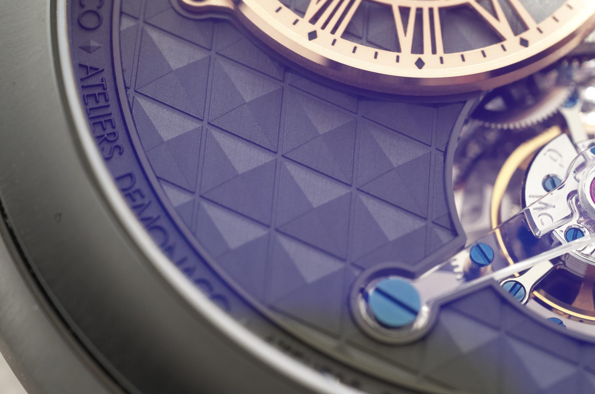 Ateliers de Monaco dial detail