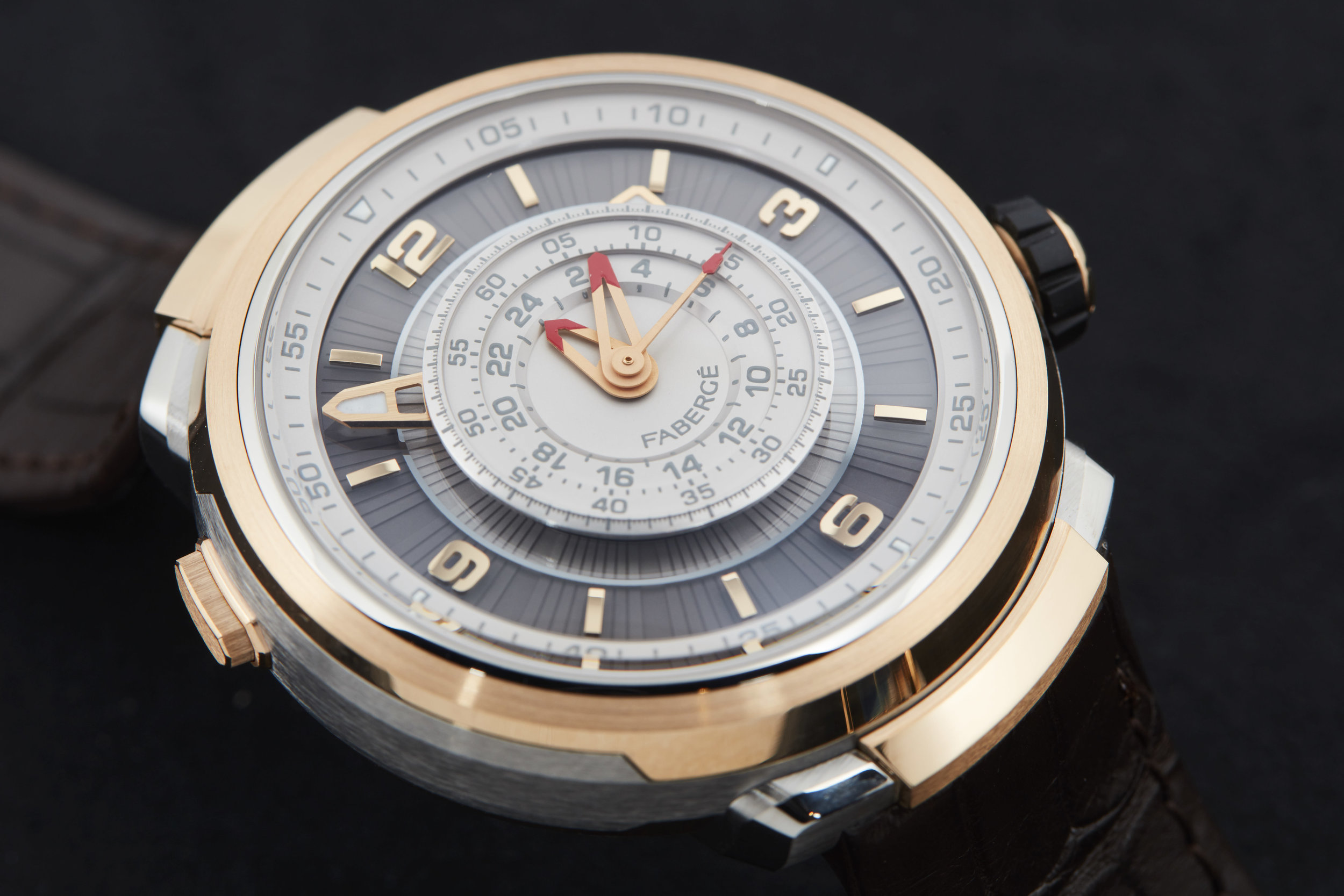 Fabergé Visionnaire Chronograph in rose gold