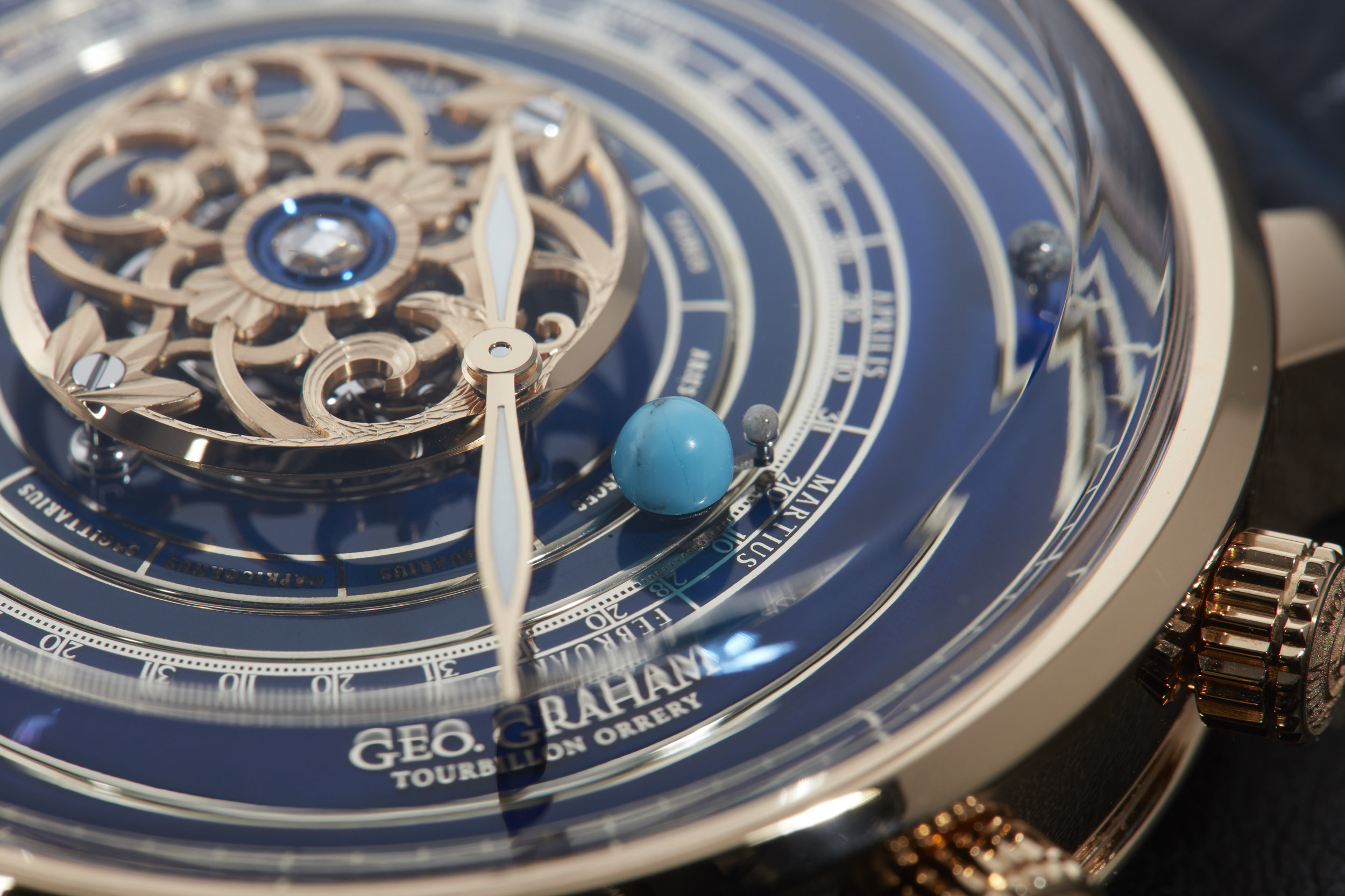 Geo. Graham Orrery Tourbillon