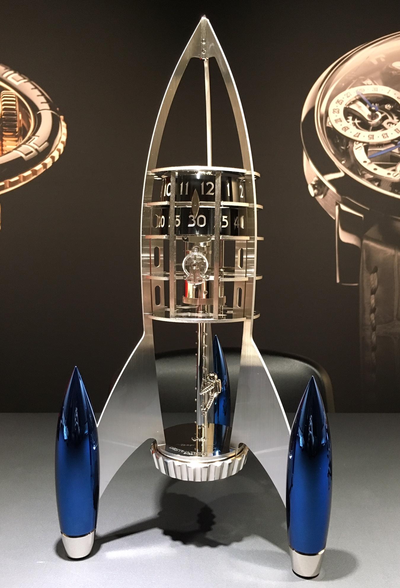 MB&F Destination Moon Clock