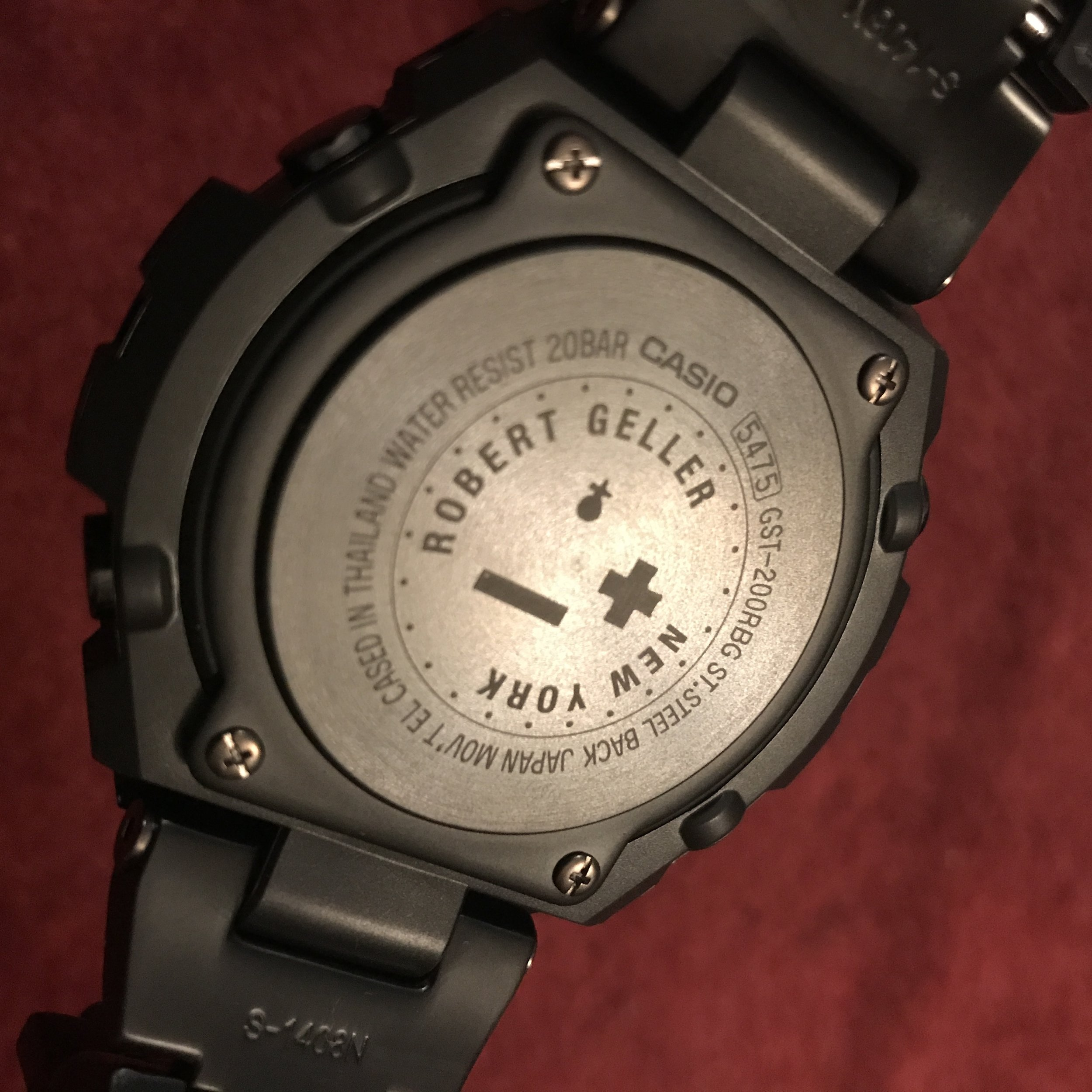807836f3c7a Robert Geller X G-Shock  Midnight in Tokyo — Collectors  Perspective