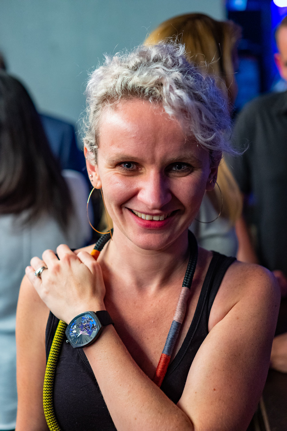 Fiona Krüger wearing the Entropy I from the Chaos Collection