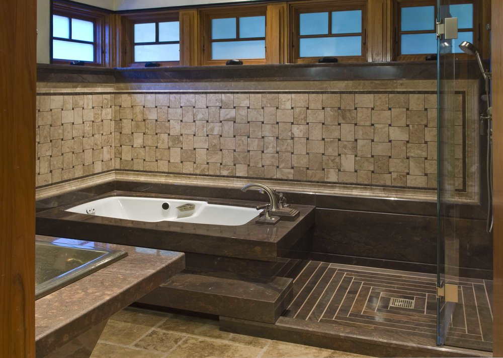 Fabricated stone tub platform & Shower.jpg