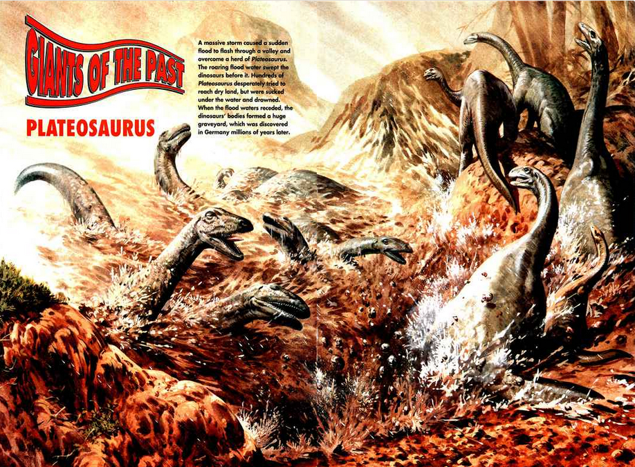 Image borrowed from   Dinosaurs!   Issue #18
