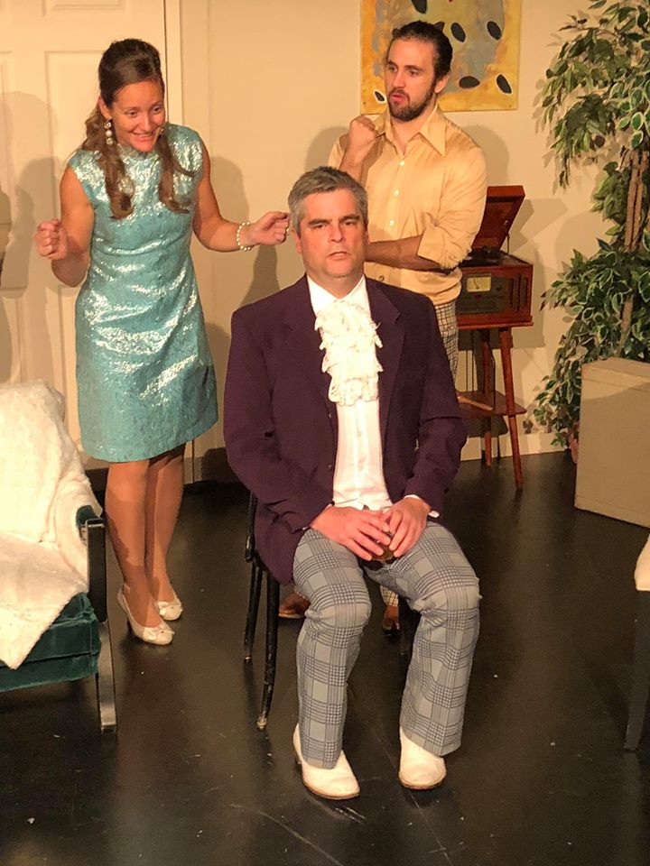 Pictured left to right: Sabrina Roberts, Chris Panting, Zac Cross