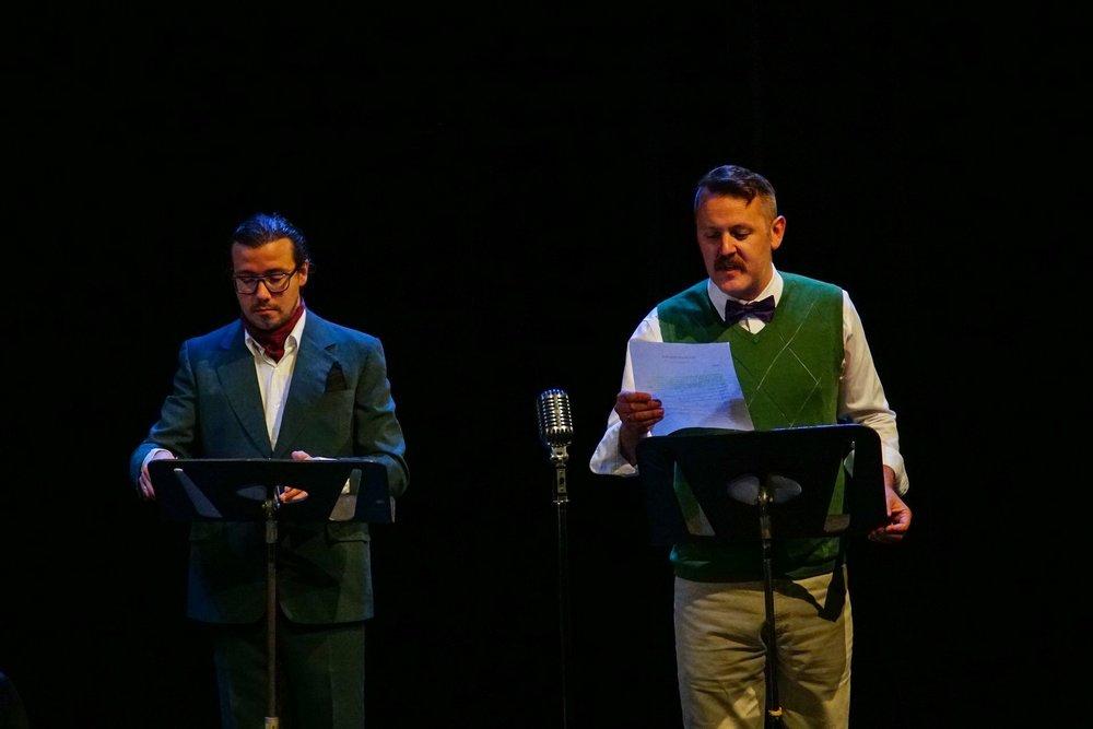 Mark White and Philip Goodridge