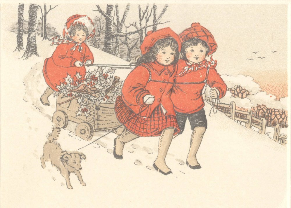 White, who told us still sends Christmas cards to those not on her email list, considering this card to be one of her favourites.