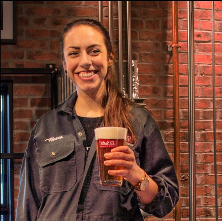 Master Brewer Alexis Wagner courtesy of Mill Street Brewpub St. John's
