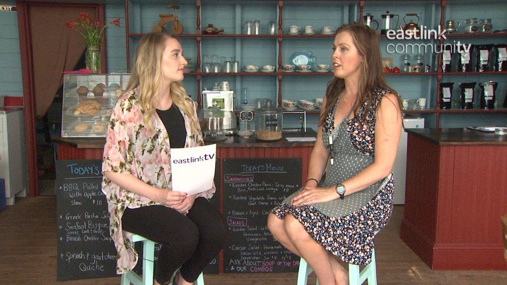 Interviewing Bonavista Bicycles courtesy of Eastlink.