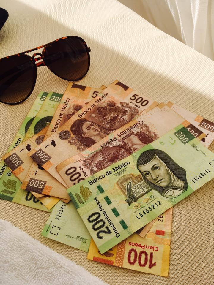 Pesos in Maya Riviera, MExico - November 2016