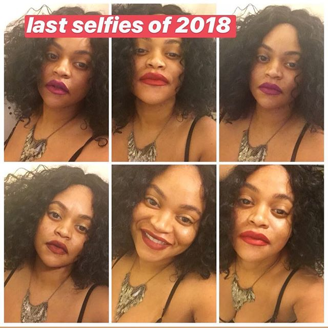 This year, I'm going out more. I have too many lippes that need to be worn. 💋💋💋😘 #XoShavon #LipstickJunkie • • • • • • #blackgirlmagic #blackgirlsrock #lippies #boldlip #bighair #selfies #happygirl #travel #travelmore #happynewyear #newyear #goals #feelingmyself #queen #fearless #manifesflove #selflove #selfcare
