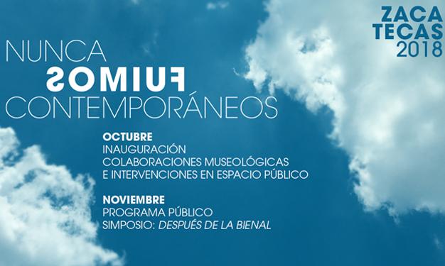 INAUGURACIÓN XIII BIENAL FEMSA - Inauguración 26 de octubre 2018