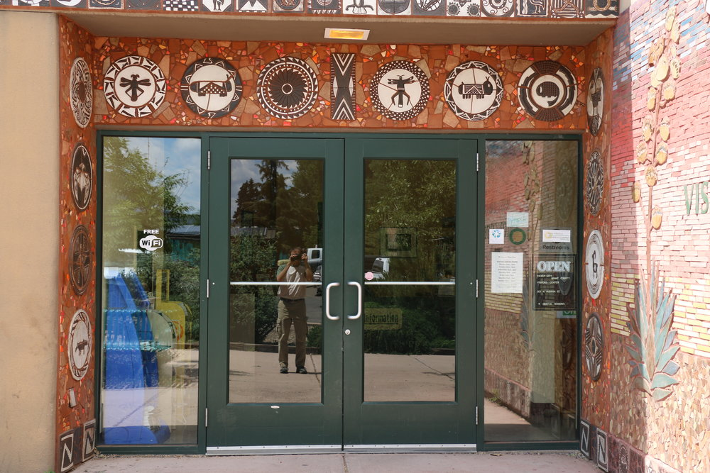 Visitor Center - 201 N. Hudson StreetSilver City, NM 88061T: 575-538-5555E: visitorcenter@visitsilvercity.orgHours: Mon - Sat: 9 to 5, Sun: 10 to 2