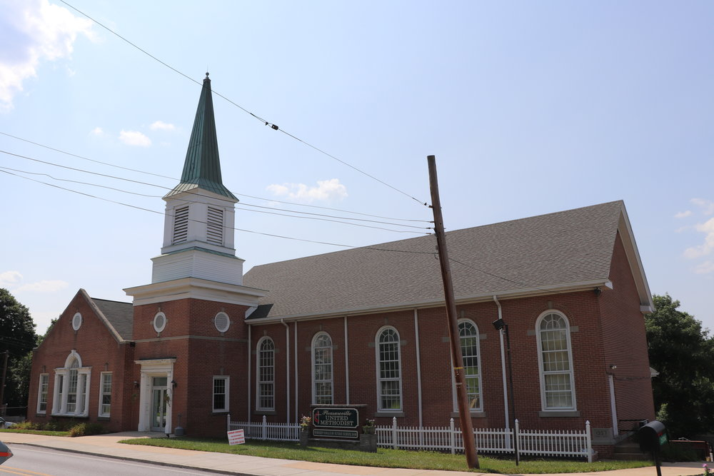 Pleasureville United Methodist Church, 2018