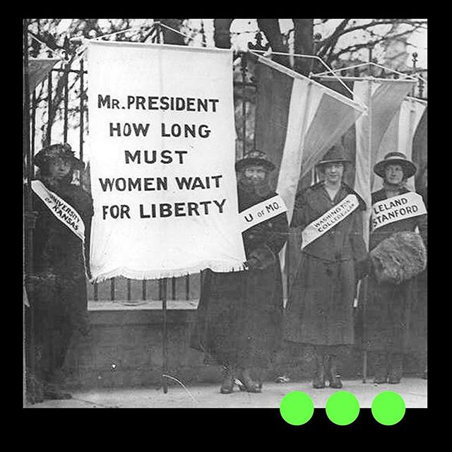 "Alice Paul and the ""Silent Sentinels,"" a group of women who protested in front of the White House, holding banners with messages such as, ""Mr. President -- What will you do for woman suffrage?"" The picketing continued even as America readied for war. The suffragists were first harassed, then arrested. Sent to the Occoquan Workhouse in Virginia along with many others, Alice Paul began a hunger strike. Force-fed through tubes and threatened with commitment to an insane asylum, Paul remained steadfast. Wilson was offended by Paul's tactics, but he was also keenly aware of the suffrage movement's growing political strength. By the end of 1917, Wilson finally announced his support for the suffrage amendment. The Nineteenth Amendment giving women the right to vote passed in 1920.  For the rest of her life, Alice Paul continued her work for the equality of women around the world. At age 37, she earned a law degree, and wrote the first version of the Equal Rights Amendment in 1922. Following World War II, she also fought to include gender equality in the charter of the United Nations."