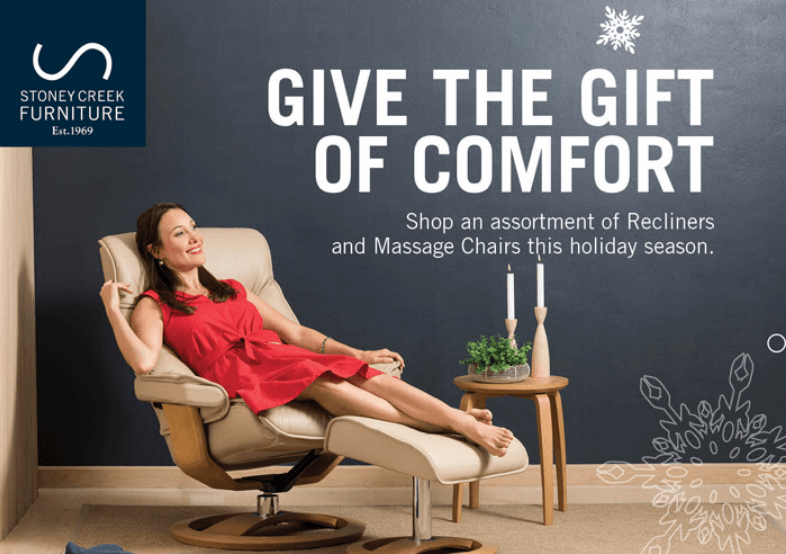 dafafd81b1 Stoney Creek Furniture - Give the Gift of Comfort — Interior Design ...