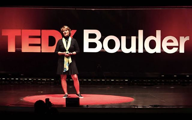 """#tbt to CEO Martha Carlin presenting at @tedxboulder! """"..her company, The BioCollective, links personal health history and metagenomic analysis to uncover previously unknown links between chronic disease and diet, stress, and environment."""" 🌱 #microbiome #thebiocollective #microbiome #guthealth #tedx #citizenscientist"""