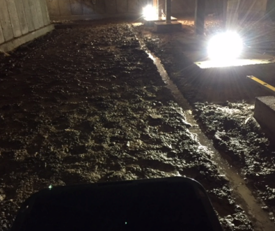 water issue in crawl space