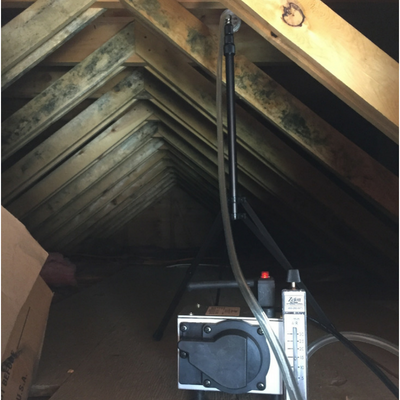 mold inspection and air sampling